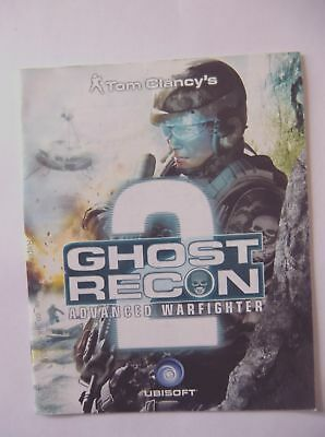 50835 Instruction Booklet - Ghost Recon Advanced Warfighter 2 - Sony Playstation