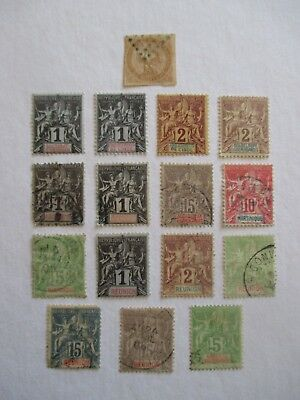 France Stamps - French Colonies - Small Collection.