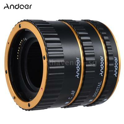 Metal TTL Auto Focus AF Macro Extension Tube Ring for Canon EOS EF EF-S S1S8