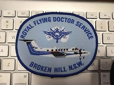 Royal Flying Doctor Service Broken Hill NSW Large Patch