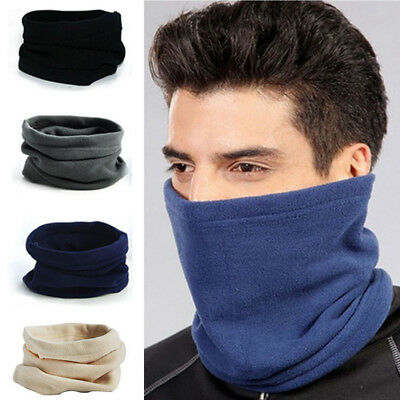 Winter Mask Thermal Face Fleece Scarf Snood Neck Warmer Sports Men Women Fashion