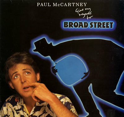Paul McCartney and Wings Give My Regards To Broad... vinyl LP  record UK