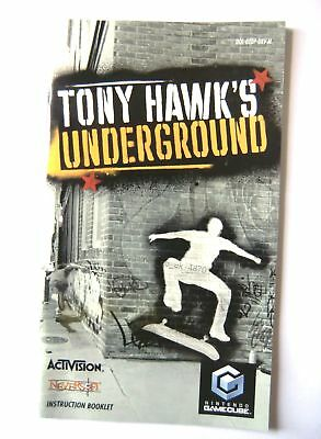 48701 Instruction Booklet - Tony Hawk's Underground - Nintendo Gamecube (20