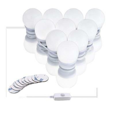 Mirror Lights,Hollywood Style LED Vanity Mirror Lights Kit Makeup Light with 10