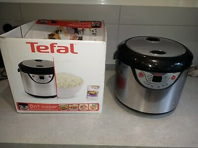 Tefal Slow Cooker and rice cooker in Stainless Steel