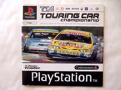 56521 Instruction Booklet - TOCA Tournig Car Championship - Sony Playstation 1 (