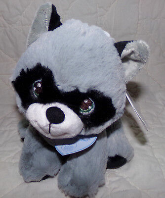 06a10e199f29 NEW 9 Inch Precious Moments Rascal Raccoon Plush Stuffed Animal by Aurora