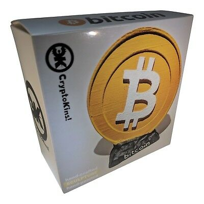 *NEW*Bitcoin Sculpture Limited Run HODL This *Iconic*Cryptocurrency Collectible!
