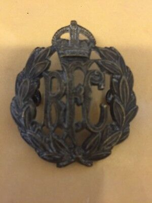 Excellent Original Ww1 Royal Flying Corps  Cap Badge