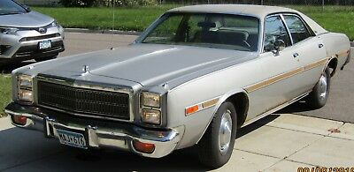 1978 Plymouth Salon Grey with silver and chrome trim 1978 Plymouth Salon 84,535 Original Miles Rust