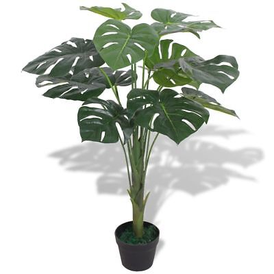 vidaXL Planta de Monstera Artificial con Maceta Altura Total 70 cm Color Verde