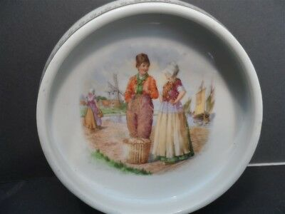 Dutch Scene K L Baby Plate or Bowl made Germany