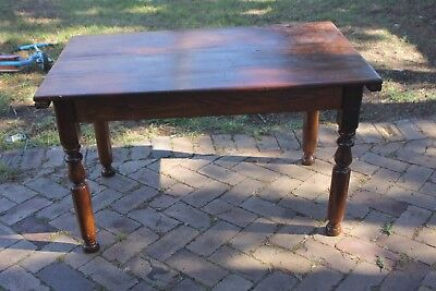 antique table - wooden
