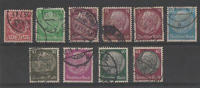 Germany - Deutsches Reich Used stamps