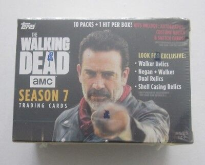 2017 Topps The Walking Dead Season 7 Blaster Box