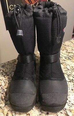 Baffin Polar Proven Winter Boots Black - Men's 7 Women's 8.5