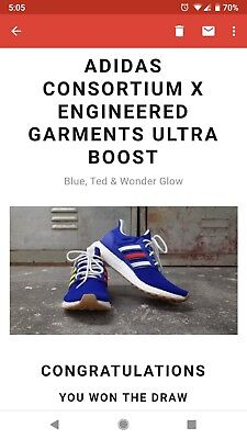 0f502f53de5 ADIDAS CONSORTIUM X Engineered Garments Ultra Boost Uk 7 - £120.00 ...