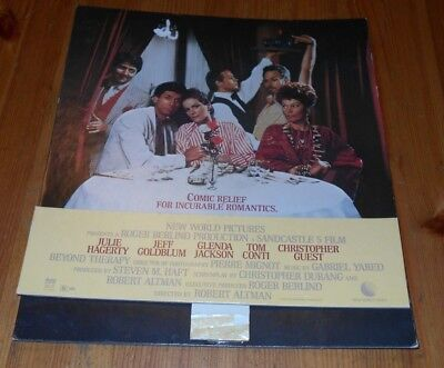 Vintage 1987 - COMIC RELIEF FOR INCURABLE ROMANTICS Movie Store Display Standing