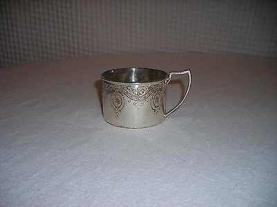 Very Rare! 1865c. Wilcox Silverplate Cup #753  Pattern:Duchess