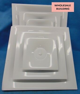Titus, Ceiling Vent Covers, Bhv1097Df, 24X24, White, Pair Of 2