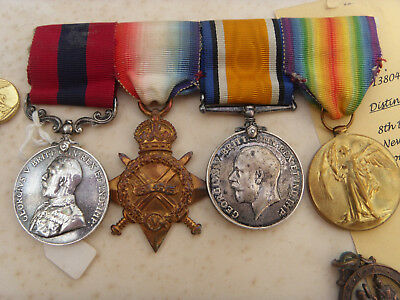 GREAT WAR WW1 Trio + Distinguished Conduct Medal DSM + Dress Medals etc...