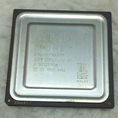 Vintage AMD-K6/266AFR cpu for scrap gold recovery or a collection