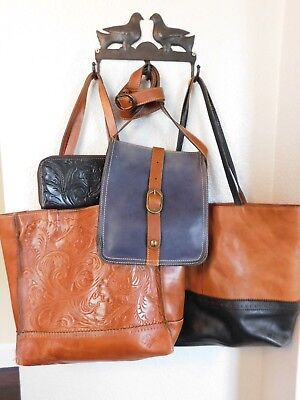 6f7bbbe71 4 Pcs. of Patricia Nash Leather Bags, Toscano Tote, Venezia , Zip Wallet