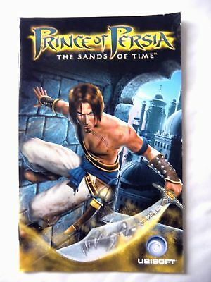 58036 Instruction Booklet - Prince Of Persia The Sands Of Time - Sony Playstatio