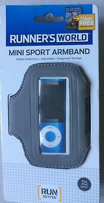 Runners World Mini Sport Armband Grey