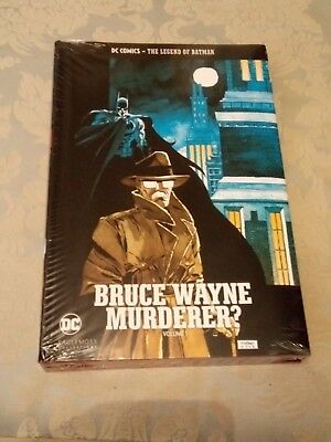 "The Legend of Batman ""Bruce Wayne: Murderer?"" h/b cheapest on eBay check!"