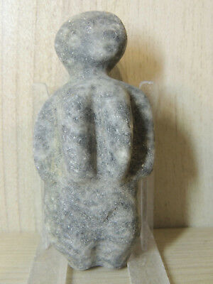Antique Stone Figure statuette,mother godess,fertility,god,alien,idol