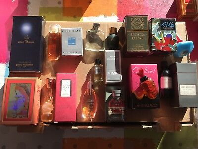 Lot de miniatures de parfum