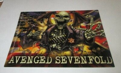 Avenged Sevenfold Sticker New 2007 Vintage Oop Rare Collectible