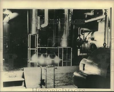 1951 Press Photo Atomic Light Bulbs create power from atomic Energy in Facility