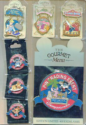 Pin Disneyland Paris DLP Pin event gourmet du 26 mars 2011