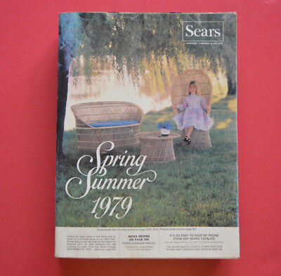 Vintage Sears Roebuck & Co 1979 Spring Summer Catalog Eastern Edition 1431 Pages