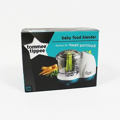 Tommee Tippee Baby Food Blender Grinder Mash Small & Handy Safe Easy to Clean