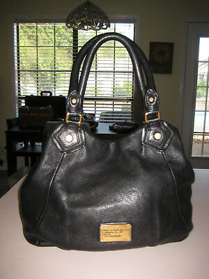 0e064585c690 Marc By Marc Jacobs Standard Supply Workwear Black Leather Handbag Tote