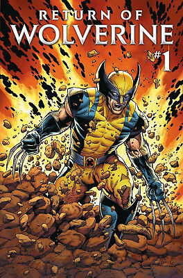 RETURN OF WOLVERINE #1 Marvel 1st Print New & Unread NM Bagged and Boarded