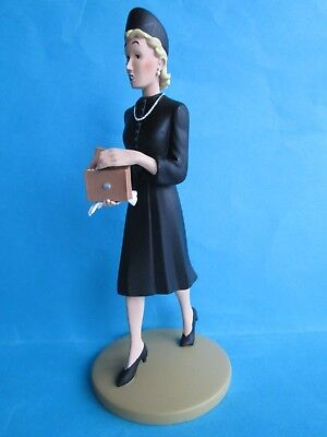 Figurine Collection Tintin N°98 / Madame Clermont