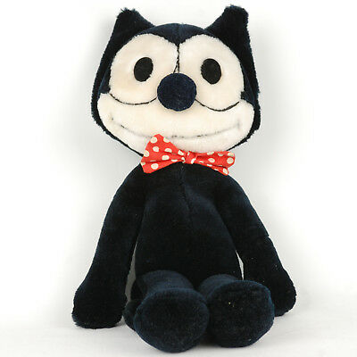 """Vintage 1982 Felix 15"""" plush with Bowtie, Rare Collectible Great Condition (345)"""