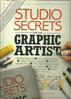 Studio Secrets for the Graphic Artist (2 Books) Free Shipping