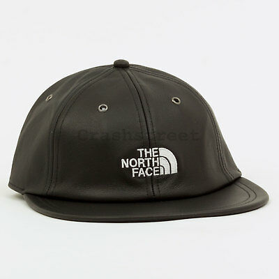 44025e561 SUPREME FW18 THE North Face Leather 6-Panel cap logo hat tee camp box Black