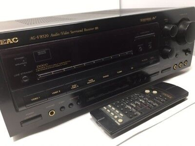 TEAC AG V8520 AM FM 5 1 Audio Video Receiver With Multi Channel Inputs