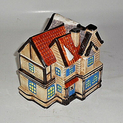 "Nicely Detailed Cib Holiday Sugar Cookies Snow Covered Roof Cookie Jar 6"" House"