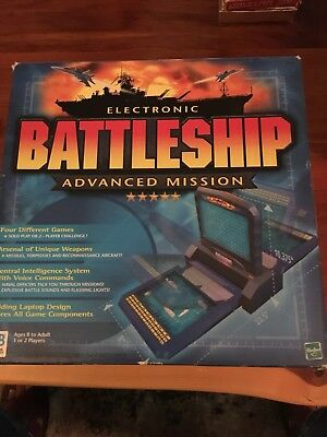 Electronic Battleship Advanced Mission 2000 Complete Works