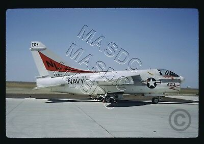 35mm Kodachrome Aircraft Slide - A-7E Corsair BuNo 156880 NL403 VA-94 - Mar 1971
