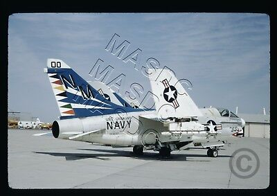 35mm Kodachrome Aircraft Slide - A-7A Corsair BuNo 153237 NM300 VA-153 April '72