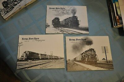 Lot of 12 Nickel Plate Road Historical Society Magazines