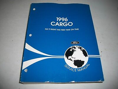 1996 Ford Cargo Truck Shop Service Manual Clean Diesel Engines